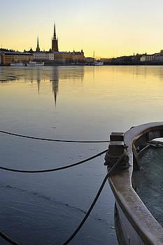 Stockholm by night by Lars Hallstrom