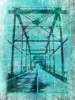 Stroll - Abstract by Michelle Wiltz