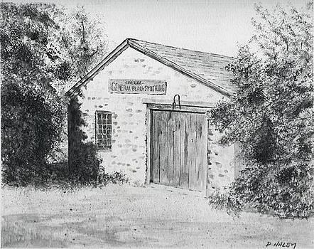 The Blacksmith's Shop by Dan Haley