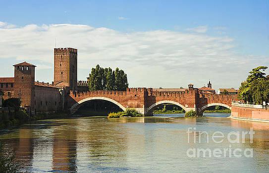 The Castelvecchio Bridge in Verona by Kiril Stanchev