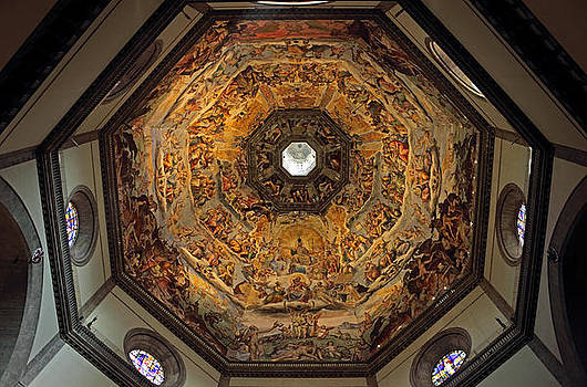 The Dome of Basilica di Santa Maria del Fiore in Florence by Kiril Stanchev
