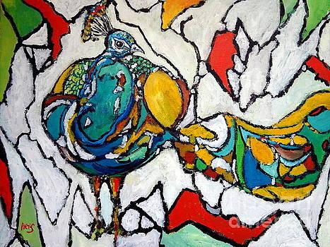 The Dwarven Peacock by Aeris Osborne