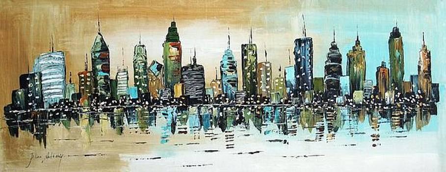 The Green City by Jolina Anthony