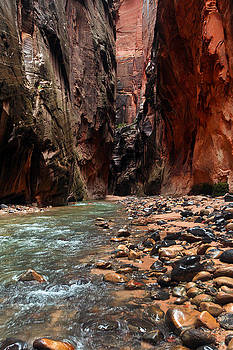 The Narrows Rocky River by David Yunker