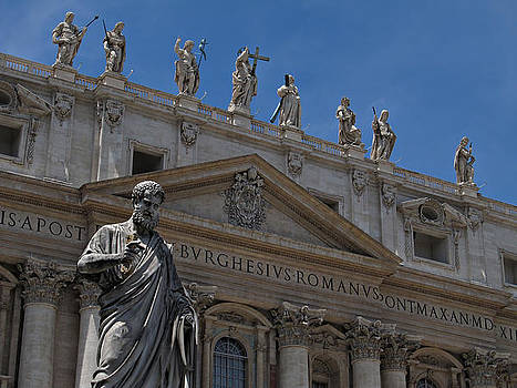 The Papal Basilica of Saint Peter by Kiril Stanchev
