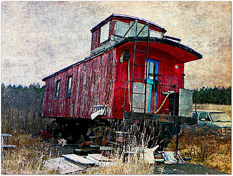 The Red Caboose by Dianne  Lacourciere
