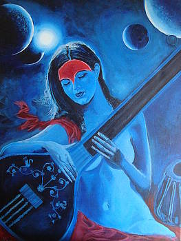 The Sacred Sound OM by Kumar Yaman