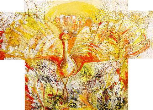 The Sun's bird by Otilia Gruneantu Scriuba
