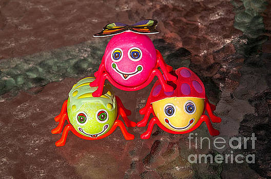 Three Easter Egg Bugs by Sue Smith