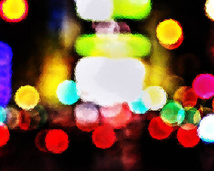 Times Square Rythm by Suzanne Barber