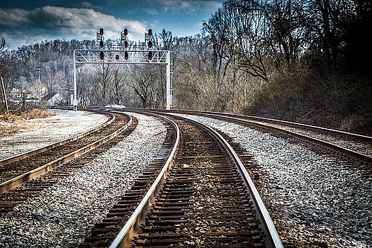 Trained Tracks by Lee Wellman