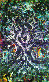 Tree in the city by Darryl  Kravitz