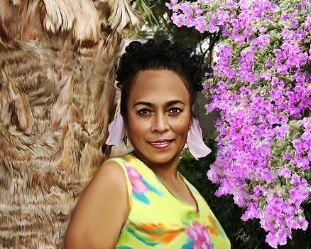 Tropical beauty by Linda Gleason Ritchie
