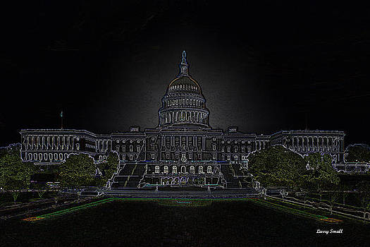 U.S. Capitol Building by Larry Small
