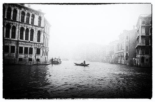 Venice in the Mist by Peter Aitchison