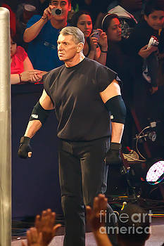 Vince McMahon by Wrestling Photos