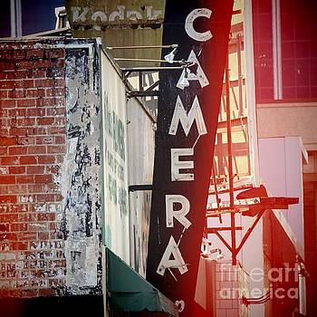 Vintage Camera Sign by Nina Prommer
