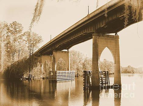 Waccamaw River Memorial Bridge by Dawne Dunton