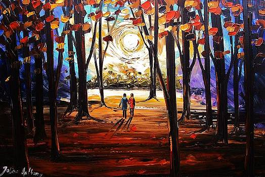 Walk In The Evening by Jolina Anthony