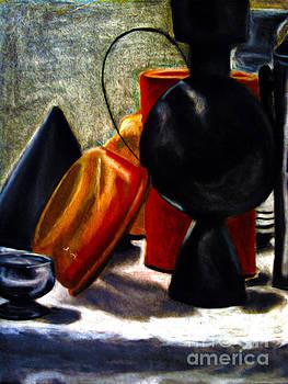 Warm Pots by Steven  Christian