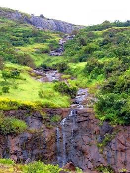 Waterfall by Adil
