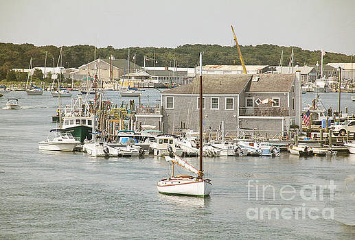 Wesport Harbor by Rosemary Aubut