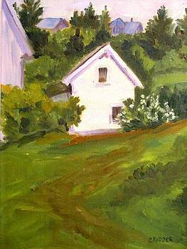 White Cottage  by Colleen Kidder