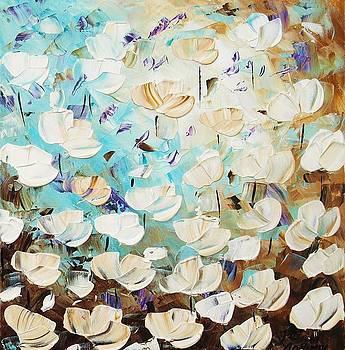 White Poppis by Jolina Anthony