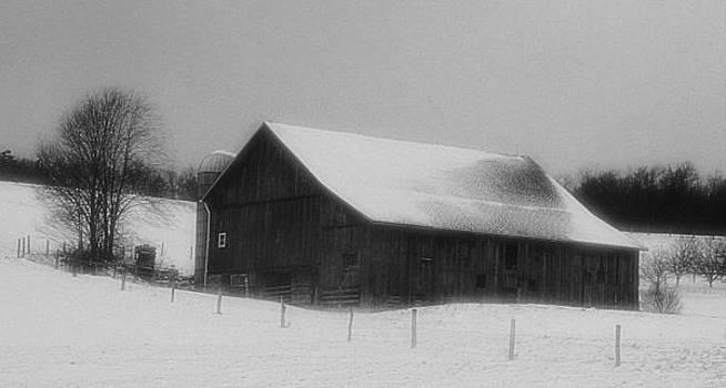 Winter Barn by Gary Pavlosky