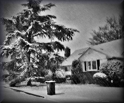 Winter in Black and White by Mikki Cucuzzo