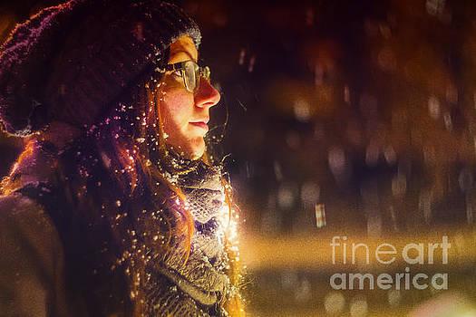 Winter Night 2  by John Jamriska