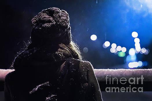 Winter Night by John Jamriska