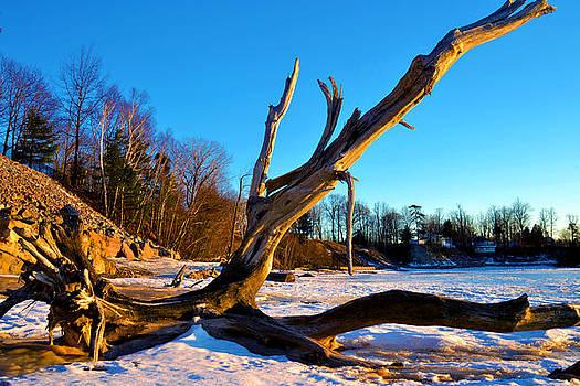 Winters Drift by Wendell Ducharme Jr