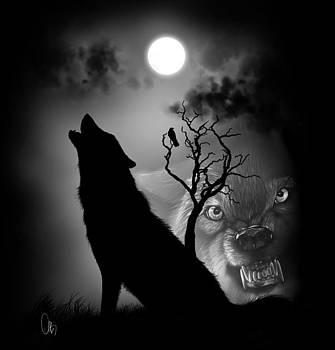 Wolf Spirit by Bernadett Kovacs
