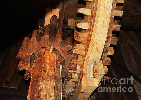 Wooden Gears by Rosemary Aubut
