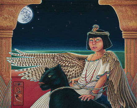 Young Isis Protects the Night by Susan Helen Strok