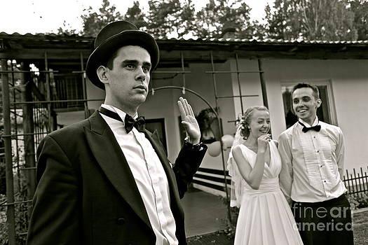 ringleader     -    dance leader    .  Happiness Wedding - Creme de Vita..   by  Andrzej Goszcz
