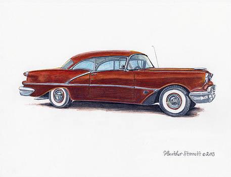 1956 Oldsmobile Super 88 by Heather Stinnett