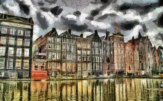 Amsterdam Water Canals by Georgi Dimitrov