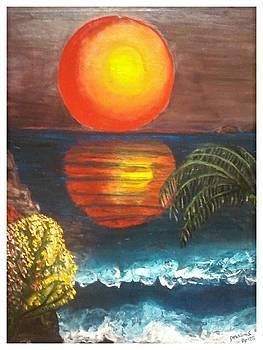 Artds - The Sunrise by Souad Dehhani