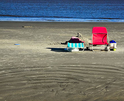Beach Chairs by Michael Ray
