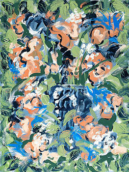 Blossoms by Carole Goldman
