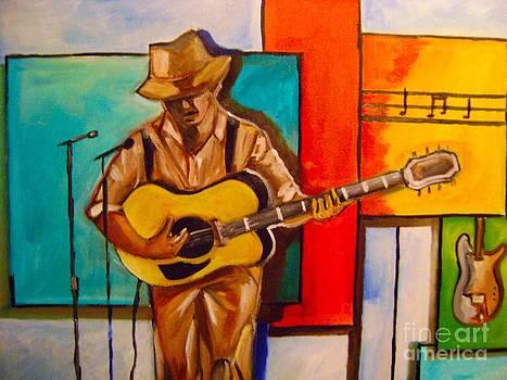Bluesman by Sidney Holmes