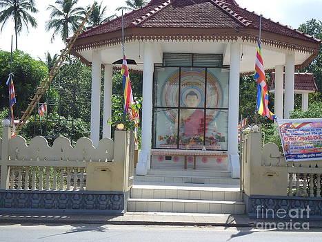 Buddhist Temple by Sunanda Yapa