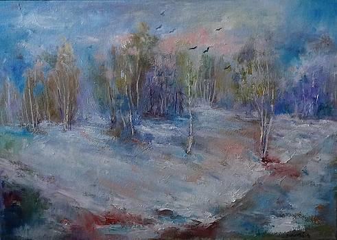 Charm of winter by Natalia Bardi