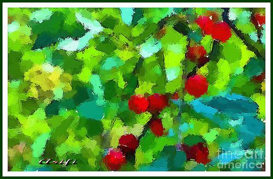 Cherry In My Garden 2011 by Arif Zenun Shabani
