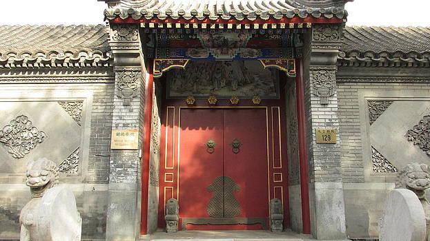 Alfred Ng -  Chinese door