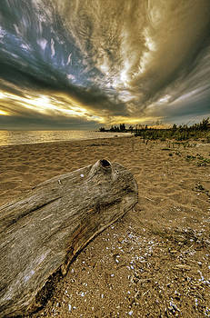 Clouds Gathering over Georgian Bay by Claudio Bacinello
