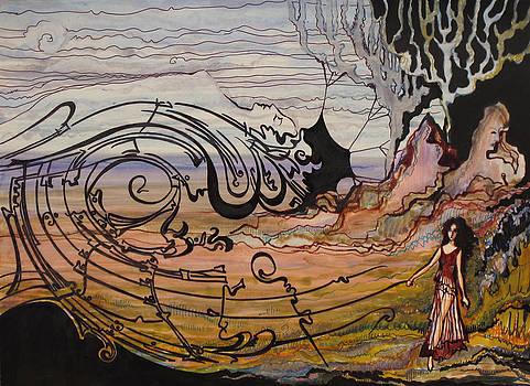 Disappearing dream by Valentina Plishchina