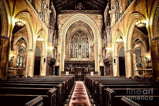 English Gothic Church by Don Fleming